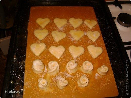 Кулинария Мастер-класс Валентинов день Рецепт кулинарный Ideas for Valentine's Day №2 Сердечки из слоёного теста Продукты пищевые фото 8