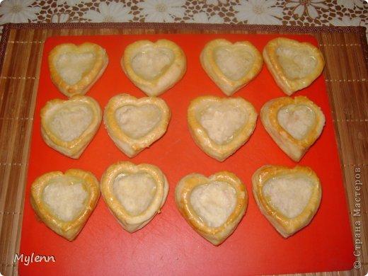 Кулинария Мастер-класс Валентинов день Рецепт кулинарный Ideas for Valentine's Day №2 Сердечки из слоёного теста Продукты пищевые фото 10