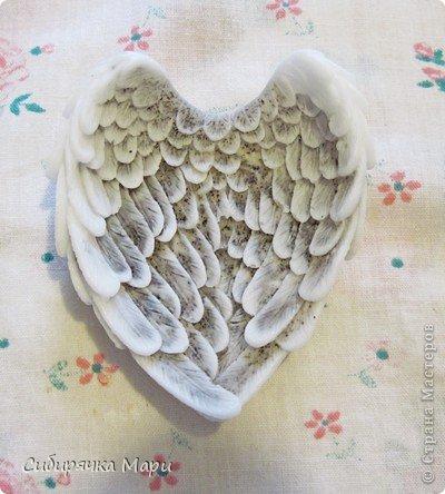 Мастер-класс Валентинов день День защиты детей День рождения Мыловарение Мыло-скраб Крылья ангела Мыло фото 27