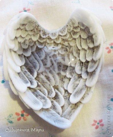 Мастер-класс Валентинов день День защиты детей День рождения Мыловарение Мыло-скраб Крылья ангела Мыло фото 29