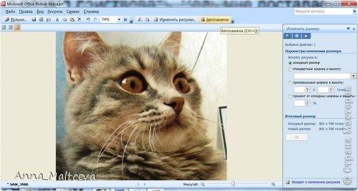 """Здравствуйте, гости! Хотела бы показать еще один способ редактирования фотографий. Этот МК понадобится всем, кто не умеет пользоваться фотошопом, но хочет подписать фотографии своих работ в любой технике и скрапбукинг, мой любимый, и квиллинг и мыло и всё всё всё что угодно.  Для блогов и сайтов используются изображения, которые не должны превышать 2 мб, а также не превышать размер 520*480 пикселей. На нашем любимой сайте """"Страна Мастеров"""" именно такие ограничения и поэтому поводу Ануп делал несколько МК: https://stranamasterov.ru/node/2747 https://stranamasterov.ru/node/1332 Сегодня я хочу рассказать как я уменьшаю, обрезаю и подписываю фотографии. Для этого нужен только компьютер с операционной системой Windows с установленным пакетом офисных программ (Microsoft Office) и интернет. Ну и как альтернатива немного Фотошопа. Я подчеркиваю, что в общем нам не нужны какие-то специфические программы и фотошоп необязателен, не у каждого он есть на компьютере, да и пользоваться им нужно учиться, не всегда всё так просто) А вот """"Офис"""" есть практически у каждого. В своем примере я использовала первую попавшуюся рамочку и цвет текста яркий специально, чтобы научить делать, а красоту и гармонию в своих подписях и рамочках наведите сами))) фото 13"""