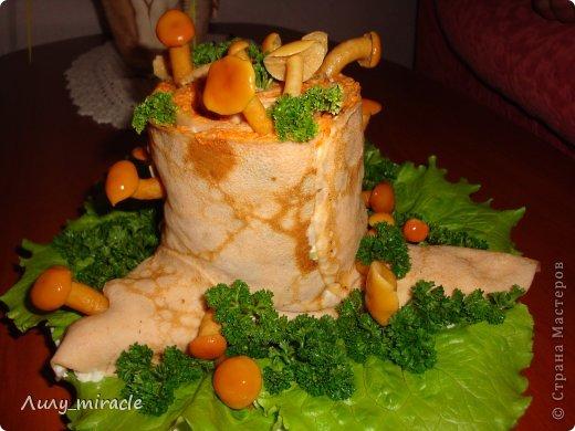 Кулинария Мастер-класс Рецепт кулинарный Салат Пенек Продукты пищевые фото 1