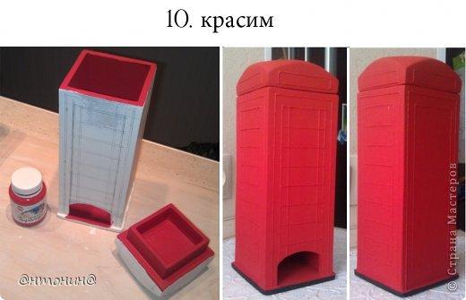 Мастер-класс Поделка изделие Моделирование конструирование Чайный домик из гипсокартона + мини МК фото 16