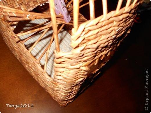 Мастер-класс Плетение Ехали мы ехали  Учимся плести крышу автомобиля Бумажные полосы фото 15