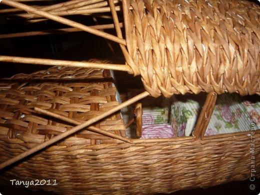 Мастер-класс Плетение Ехали мы ехали  Учимся плести крышу автомобиля Бумажные полосы фото 18