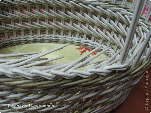 Поделка изделие Декупаж Плетение Постигаем новое подсказки Картон Салфетки Трубочки бумажные фото 3