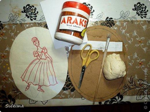 Картина панно рисунок Мастер-класс Лепка Панно под бронзу соленое тесто Тесто соленое фото 2