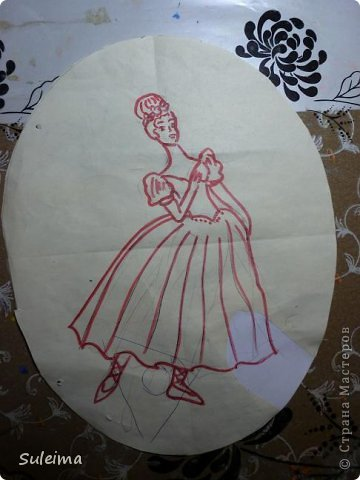 Картина панно рисунок Мастер-класс Лепка Панно под бронзу соленое тесто Тесто соленое фото 3