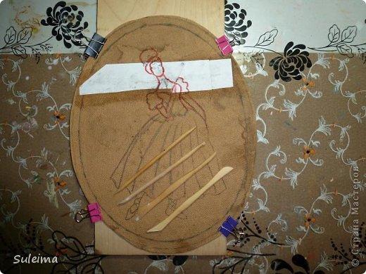 Картина панно рисунок Мастер-класс Лепка Панно под бронзу соленое тесто Тесто соленое фото 5