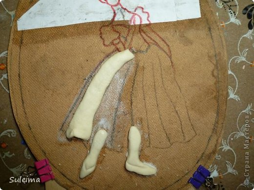 Картина панно рисунок Мастер-класс Лепка Панно под бронзу соленое тесто Тесто соленое фото 7