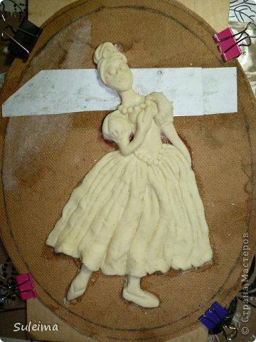 Картина панно рисунок Мастер-класс Лепка Панно под бронзу соленое тесто Тесто соленое фото 15