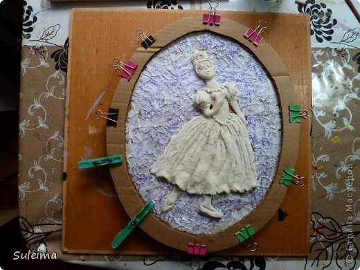 Картина панно рисунок Мастер-класс Лепка Панно под бронзу соленое тесто Тесто соленое фото 19