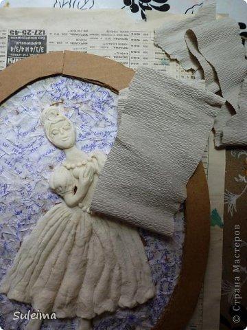 Картина панно рисунок Мастер-класс Лепка Панно под бронзу соленое тесто Тесто соленое фото 20