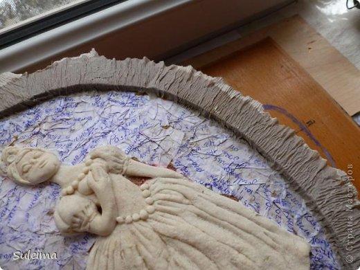 Картина панно рисунок Мастер-класс Лепка Панно под бронзу соленое тесто Тесто соленое фото 21
