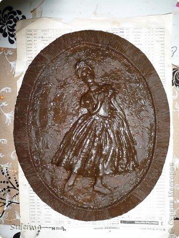 Картина панно рисунок Мастер-класс Лепка Панно под бронзу соленое тесто Тесто соленое фото 25