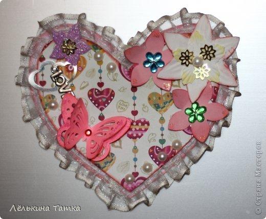 Приближается День всех Влюбленных!!! Решила и я сделать что-то своему любимому в подарок.  фото 3