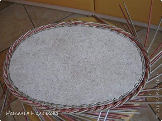 Поделка изделие Декупаж Плетение Постигаем новое подсказки Картон Салфетки Трубочки бумажные фото 11