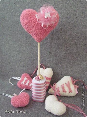 Здравствуйте! Скоро день Св.Валентина. Я очень люблю этот праздник. Он очень вдохновляет на творчество. И вот они результаты вдохновения.... фото 7