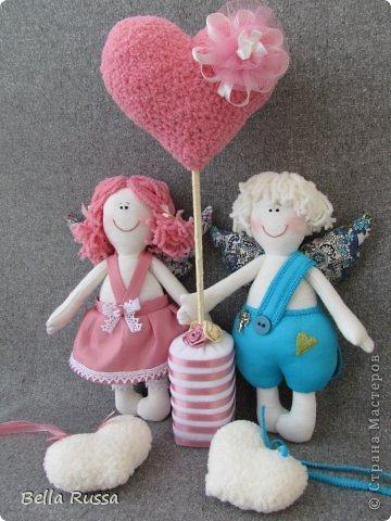 Здравствуйте! Скоро день Св.Валентина. Я очень люблю этот праздник. Он очень вдохновляет на творчество. И вот они результаты вдохновения.... фото 1