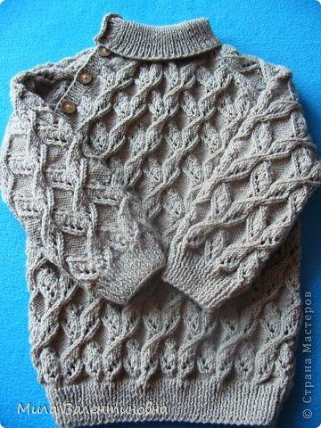 Гардероб Вязание спицами Свитерок МЭТЬЮ Пряжа фото 1