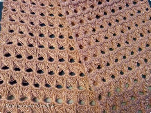 На этот шарф я вдохновилась, когда просматривала работы моей коллеги по стране мастеров Татьяны Векленко. А вот и ссылка на ее брумстиковый шарф https://stranamasterov.ru/node/431975?c=favorite фото 3