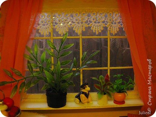 Здравствуйте, уважаемые жители Страны мастеров и ее гости!!!  Рада приветствовать вас в моей второй теме про Домик для Мишутки Даринки! Домик - это подарок моей доченьке к Новому 2014 году.  Изготовление его продолжается уже третий месяц, хоть Новый год уже давно позади....  Начало нашей истории смотрите в моем первом блоге http://stranamasterov.ru/node/713606  Итак, домик по-прежнему выглядит так. фото 12