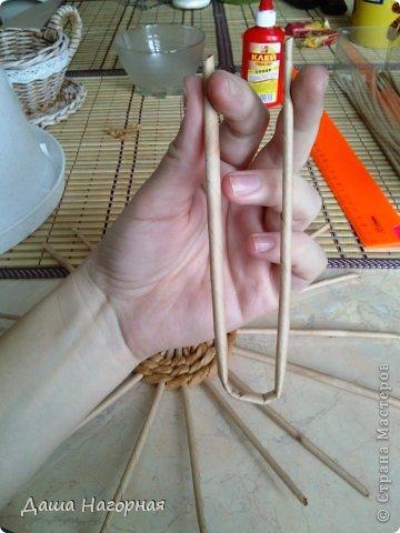 Мастер-класс Поделка изделие Плетение МК чашки Бумага газетная Трубочки бумажные фото 8