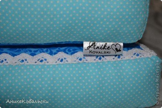 Интерьерные буквы подушки Ткань фото 2