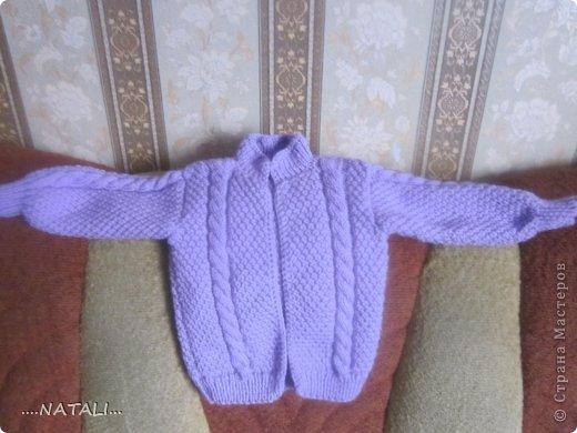 топик для дочки. спицы и крючок. фото 31