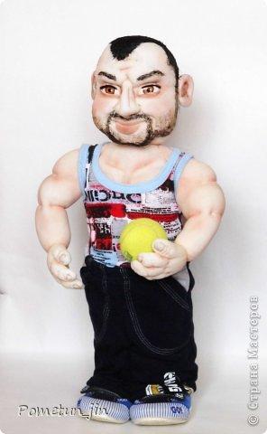 Кукла Спортсмен мини-бар.