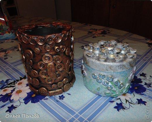 Вот сделала подарочки дяде и тёте. Поэтому и расцветка разная, но сделаны аналогично. фото 17