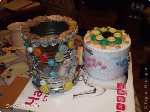 Вот сделала подарочки дяде и тёте. Поэтому и расцветка разная, но сделаны аналогично. фото 2