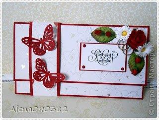 Конверты-коробочки для денег на свадьбу и день рождения