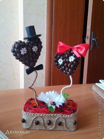 топиарий на Валентинов день. фото 1