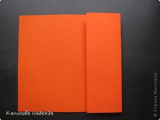 Мастер-класс Открытка Валентинов день Оригами Письмецо в конверте погоди не рви Бумага фото 3