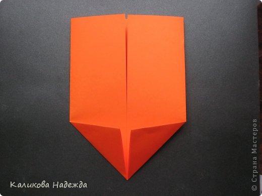 Мастер-класс Открытка Валентинов день Оригами Письмецо в конверте погоди не рви Бумага фото 5