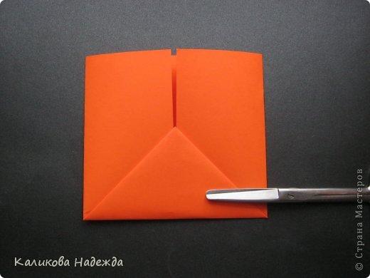 Мастер-класс Открытка Валентинов день Оригами Письмецо в конверте погоди не рви Бумага фото 6