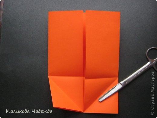 Мастер-класс Открытка Валентинов день Оригами Письмецо в конверте погоди не рви Бумага фото 7
