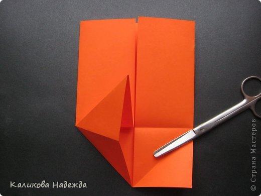 Мастер-класс Открытка Валентинов день Оригами Письмецо в конверте погоди не рви Бумага фото 8