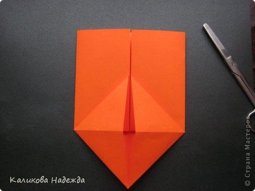 Мастер-класс Открытка Валентинов день Оригами Письмецо в конверте погоди не рви Бумага фото 9