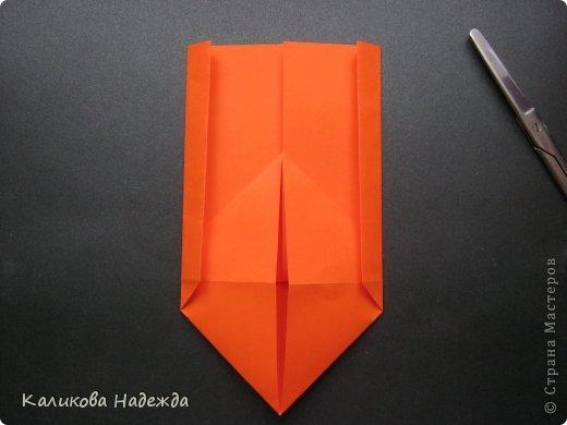 Мастер-класс Открытка Валентинов день Оригами Письмецо в конверте погоди не рви Бумага фото 11