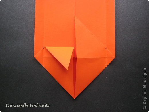 Мастер-класс Открытка Валентинов день Оригами Письмецо в конверте погоди не рви Бумага фото 13