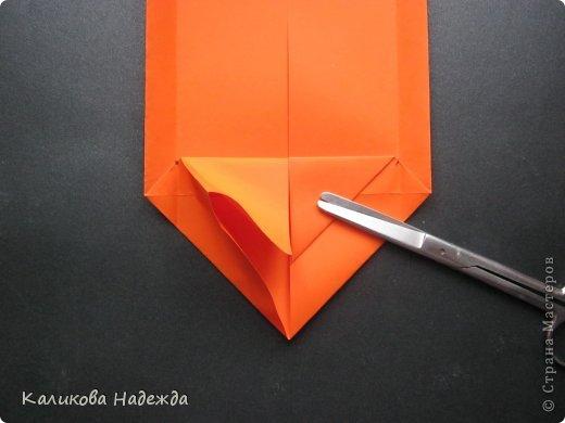 Мастер-класс Открытка Валентинов день Оригами Письмецо в конверте погоди не рви Бумага фото 15