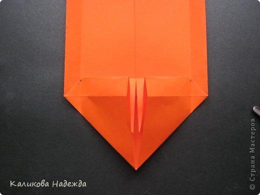 Мастер-класс Открытка Валентинов день Оригами Письмецо в конверте погоди не рви Бумага фото 16