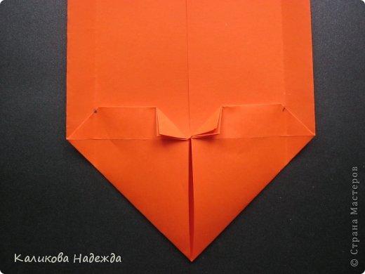 Мастер-класс Открытка Валентинов день Оригами Письмецо в конверте погоди не рви Бумага фото 17