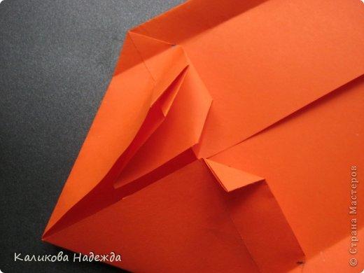 Мастер-класс Открытка Валентинов день Оригами Письмецо в конверте погоди не рви Бумага фото 18