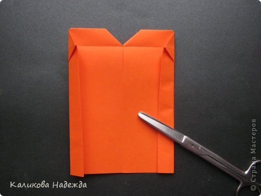 Мастер-класс Открытка Валентинов день Оригами Письмецо в конверте погоди не рви Бумага фото 21