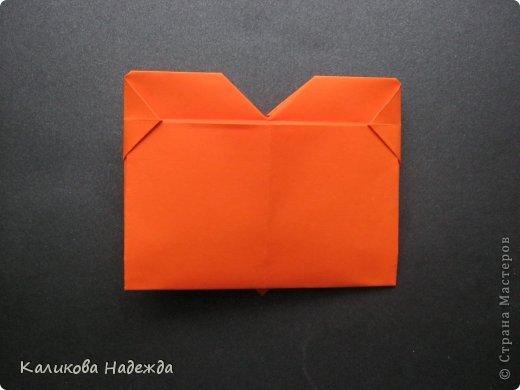 Мастер-класс Открытка Валентинов день Оригами Письмецо в конверте погоди не рви Бумага фото 22