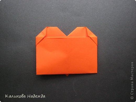 Мастер-класс Открытка Валентинов день Оригами Письмецо в конверте погоди не рви Бумага фото 25