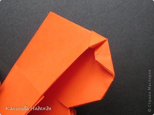 Мастер-класс Открытка Валентинов день Оригами Письмецо в конверте погоди не рви Бумага фото 24